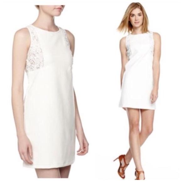 Neiman Marcus Dresses & Skirts - NWT Neiman Marcus Vegan Leather White Dress XS